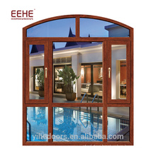 Modern double glass aluminum windows foshan